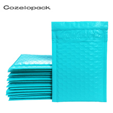 10PCS #000 4x8inch Teal Poly Bubble Mailer Padded Envelope 122x180mm self seal mailing bag bubble envelope Shipping
