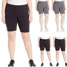 Женские удобные облегающие шорты больших размеров, обтягивающие шорты, леггинсы, Одежда для беременных, эластичные штаны с высокой талией