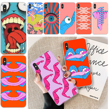 Human exaggeration Newly Arrived Black Cell Phone Case For iphone 6 6s plus 7 8 plus X XS XR XS MAX 11 11 pro 11 Pro Max Cover offeier cute hippo newly arrived black cell phone case for iphone 5c 6 6s 7 8 plus x xs xr xs max 11 11 pro 11 pro max