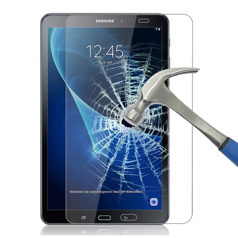 Protetor de Tela De Vidro temperado Para Samsung Galaxy Tab 10.1 2019 T510 10.5 2018 T590 2016 T580 8.0 T290 P200 7.0 T285 9.7 T550