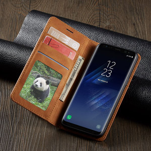 Image 3 - Flip Cover Wallet Luxury Leather Phone Case For Samsung Galaxy S8 Plus Magnetic Stand SM G950F G955F Galaxys8 S8plus S 8 8plus
