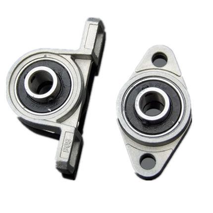2PCS Vertical/ Horizontal Bearing Seat Belt Bearing 8/10/12mmBall Bearing Small Bearing Vertical Bracket DIY Model Toy Accessory