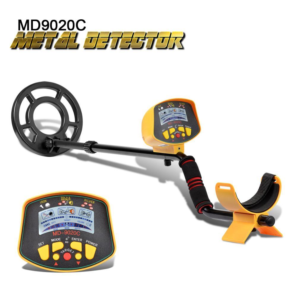 Détecteur de métaux souterrain professionnel MD9020C détecteur de métaux haute sensibilité LCD affichage trésor or chasseur détecteur de métaux