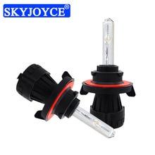 SKYJOYCE 35W 55W Bi-xenon HID Xenon Lamp Light H13-3 9008 Hi/Lo Beam H13 4300K 5000K 6000K 8000K Car Headlight Replacement Bulb