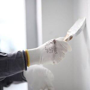 Image 4 - 12 זוגות אנטי סטטי כותנה PU ניילון עבודת כפפת ESD בטיחות אלקטרוני תעשייתי עבודה כפפות לגברים או נשים