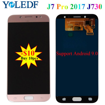 5.5'' For Samsung Galaxy J7 Pro 2017 J730 LCD SM-J730F J730FM/DS J730F/DS J730GM/DS Display Touch Screen LCD Digitizer Assembly image