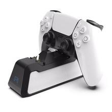 כפול מטען מהיר עבור PS5 אלחוטי בקר USB 3.1 סוג C עריסת טעינת Dock תחנה עבור Sony PlayStation5 ג ויסטיק gamepad