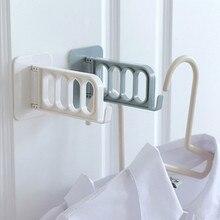 Storage-Rack Portable Household-Hanger Nail Free-Hook Bathroom Airing No-Trace 1pc Originality