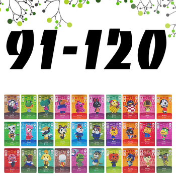 Animal Crossing Card Work NFC Cards Hot Villager Marshal Series 1 2 Game Lobo Set (91 to 120) - discount item  39% OFF Access Control