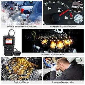 Image 2 - Lansmanı obd2 tarayıcı X431 CR3001 otomotiv profesyonel teşhis aracı obd 2 motor kod okuyucu tarama aracı arabalar için pk ELM327