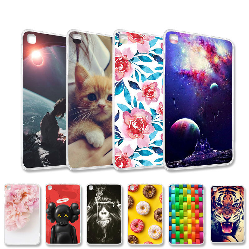 DIY Patient Silicon Case For <font><b>Amazon</b></font> Kindle Fire HD 8 Case Protective Cover Kindle Fire HD 8 2015 2016 2017 2018 Covers Bumper image