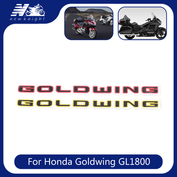 For Honda Goldwing GL1800 Gold wing Tour F6B GL 1800 ABS 3D Battery Cover Emblem Side Fairing Stickers Decal Logo Symbol Mark image