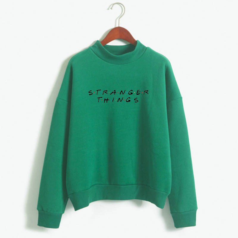 Stranger Things Official Television Series Men's Solid Logo Sweatshirt  Unisex STRANGER THINGS Hoodie - Stranger Things 9