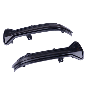 Black Plastic Car Dynamic Sequential Turn Signal LED Rearview Mirror Indicator Blinker Light fit for BMW 5 6 7 8 Series M5 фото