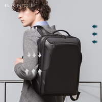 Bange 15.6 inch Laptop Backpack For Men Water Repellent Functional Rucksack with USB Charging Port Travel Backpacks Male
