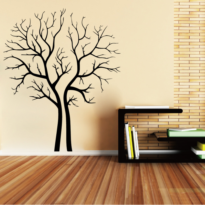 Cute Tree Decorative Sticker Waterproof Home Decor For Baby Kids Rooms Decor Decoration Accessories LW162 in Wall Stickers from Home Garden