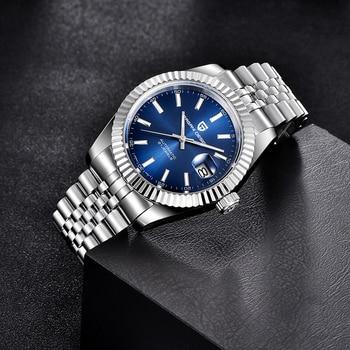 PAGANI DESIGN Men Mechanical Watch Top Brand Luxury Automatic Watch Sport Stainless Steel Waterproof Watch Men relogio masculino 5