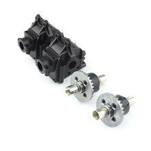 1254 conjunto da caixa de engrenagens 1309 diferencial rc acessórios do carro para wltoys 1:14 veículo controle remoto 144001