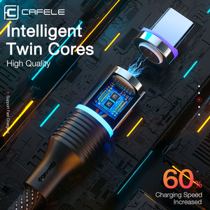 Image 5 - Cafele 5A Super snelle lading QC4.0 Magnetische Kabel USB C Opladen Type C Kabel Voor Huawei P30 P20 P10 Mate 20 Pro Lite Oplader