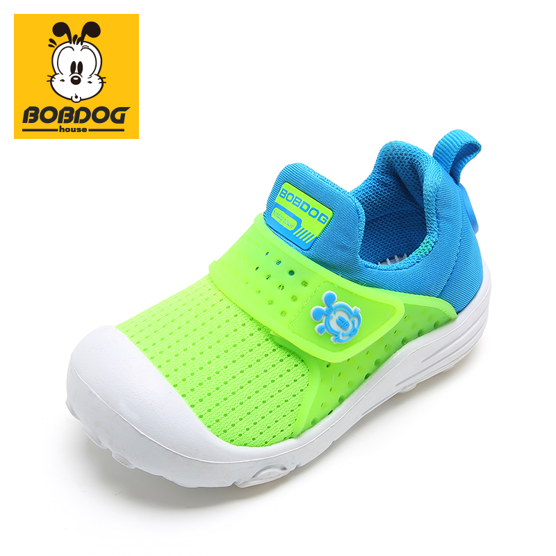 BOBDOG House Baby Shoes Non-slip Breathable Kids Running Shoes Lightweight Sports Outdoor Sneakers 21807