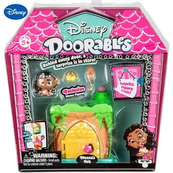 Disney Doorables Moana's Mut Surprise Fantasy Fairy House Blind Box Exclusive Anime Figure Mini Blind Box Dollhouse Kids Toys 1