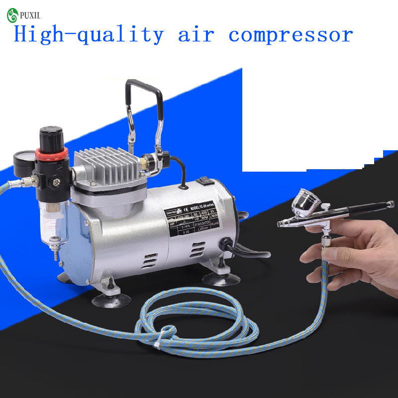 TC-20B 220V 23-25 L / min 1 / 5Hp small airbrush compressor small vacuum pump hermetic pump