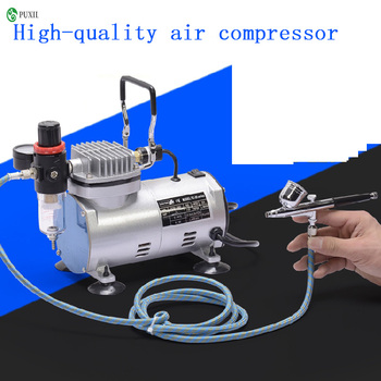 TC-20B 220V 23-25 L / min 1 / 5Hp small airbrush compressor small vacuum pump hermetic pump