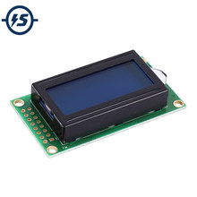 LCD0802 SPLC780C Driver LCD Display Module White Character Blue Background Dot Matrix 08x02 Screen DC 3.3V(China)