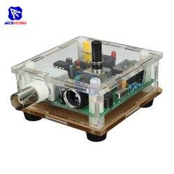 diymore DC 9-13.8V S-Pixie CW QRP Shortwave Radio Transceiver 7.023Mhz with Case DIY Kit