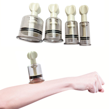 1 шт. специальный вакуумный поворотный, вращающийся чашки массаж липосакции увеличитель сосков медицинские банки для терапии тела массаж пластиковые банки 4 размера