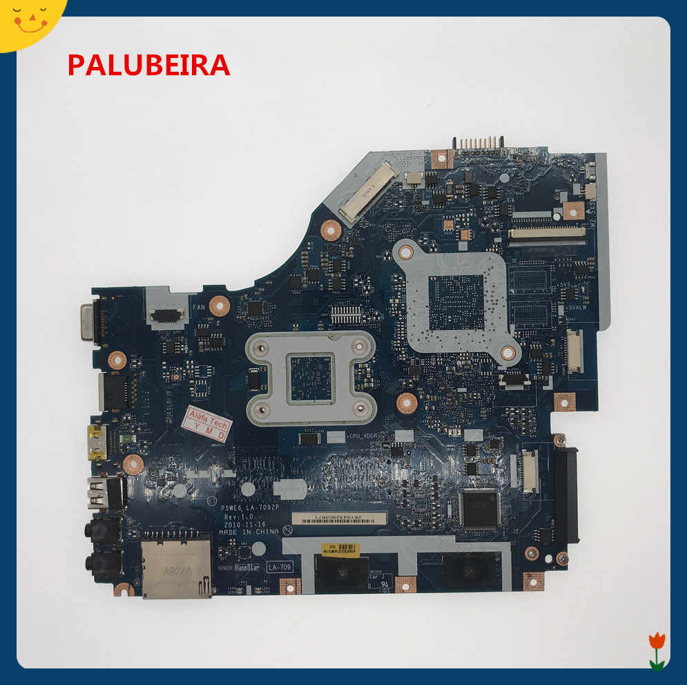 PALUBEIRA P5WE6 LA-7092P DDR3 משולב האם MBNCV02002 עבור Acer 5253 מחשב נייד