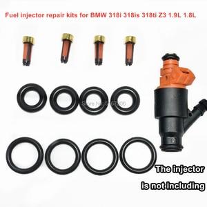 4Sets Fuel Injector Repair Kits for BMW 318i 318is 318ti Z3 1.9L 1.8L Auto Parts 0280150501 13641247196