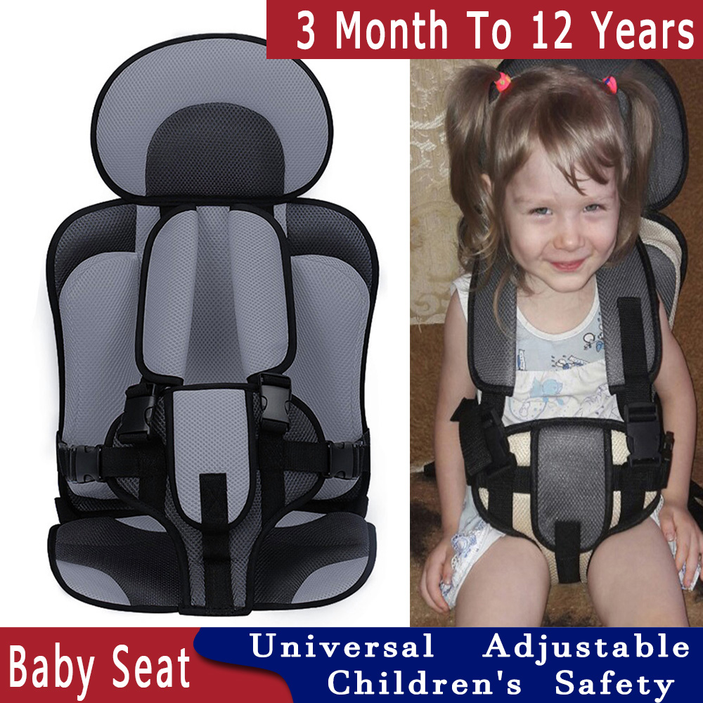 3 To 12Years Old Child Seat Travel Baby Seat Covers Portable Baby Adjustable Baby Chair Stroller Seat Pad Updated Version