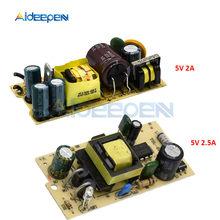 AC-DC 100-240V do 5V 2A 2.5A mini przełączanie moduł zasilania regulator napięcia dc przełącz zasilanie płyta modułu 2500MA