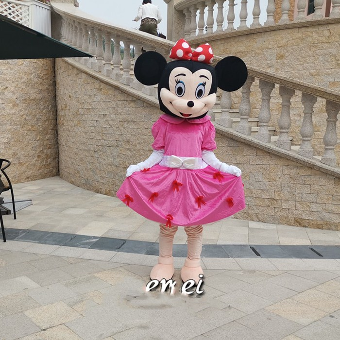 Image 2 - 2019 Hot Sale Adult Size Mouse Mascot Costume Carnival Fantasy Costumes Halloween Christmas Fancy Party Suits Parade ApparelsMascot   -