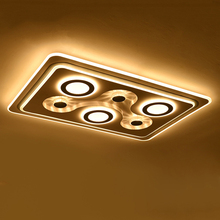 Modern New Design Led Light Decorative Living Room Lustre Moderne Salon Ceiling Lamp Led lamp led ceiling metal ceiling light