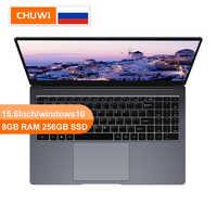 CHUWI Original LapBook Plus 15.6 pouces 4K écran HD ordinateur portable Intel X7 Quad Core DDR4 8GB 256GB SSD Windows10 double Expansion M.2 SSD