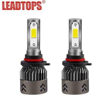 H1 S2 H4 2 lámpara LED faro Auto LED piezas EURS H7 bombilla lJT3FK1c