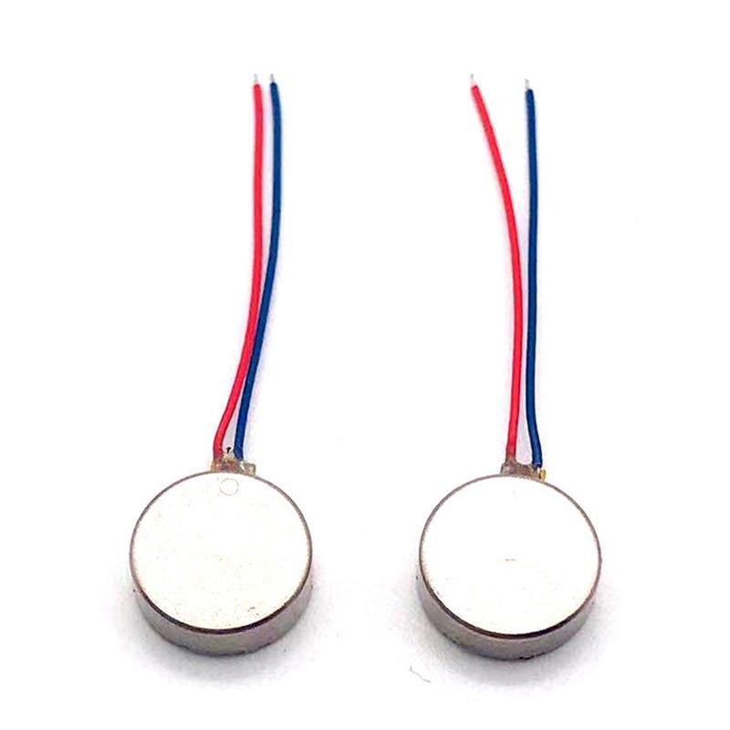 1030 Micro DC Vibration Motor 10*30 10*27 10*20 10*34 DC 3V 60mA Flat Vibrating Moteur Button Motors For Phone Coin