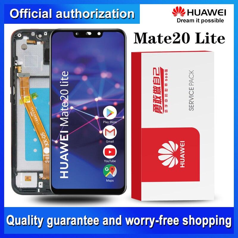 Оригинальный дисплей для Huawei Mate 20 Lite ЖК сенсорный экран дигитайзер для Huawei Mate20 Lite Запчасти для ремонта экрана|Экраны для мобильных телефонов|   | АлиЭкспресс