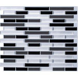 Self Adhesive Mosaic Tile Wall decal Sticker DIY Kitchen Bathroom Home Decor Vinyl W4