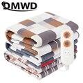 DMWD Elektrische Decke Beheizt Teppich Heizung Matte Doppel Körper Wärmer Matratze Schlafen Bett Thermostat Heizung Elektro Pad EU|Elektrische Heizungen|   -