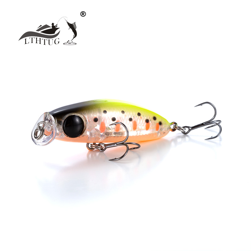 LTHTUG NEW Arrive Japanese Design ULTRA LIGHT Steam Fishing Lure 2.4g 35mm Slow Sinking Minnow MINI Hard Bait Perch Trout Bass