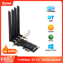 Dual band 1750Mbps 802.11ac Bcm4360 WiFi + Bluetooth BT 4.0 BCM94360CD PCIE Wireless Adapter MacOS Hackintosh AirPort Dekstop PC