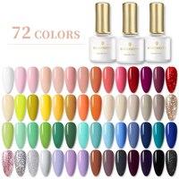 BORN PRETTY Gel Nail Polish 6ml Pure-Nail-Color Soak Off UV Gel Semi Permanent Gel Varnish Base Top Coat Need UV Lamp Cure 1