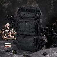 Military Tactical Backpack Waterproof Small Molle Bag Rucksack Pack 32 Liter Outdoor Hiking Camping Multipurpose Daypacks Men