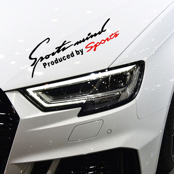 Hot Selling Car Accessories Styling Sports Mind Stickers Produced by Sport Decoration Eyelids Decal Vinyl