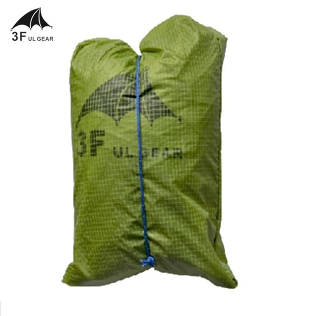 3F UL Gear Tent Footprint  Basin Ground Sheet 15D 210T  12000mm Waterproof  5