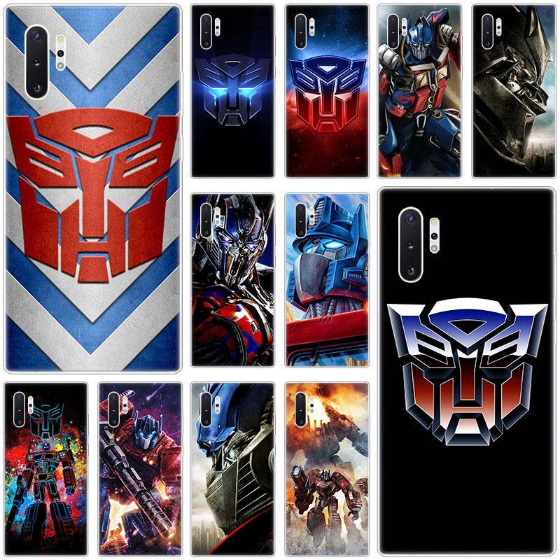 Hot Transformers Autobot Logo Case for Samsung Galaxy S10E S10 5G S9 S8 S7 Edge Note 10 Plus 9 A9 A8 A7 A6 Plus 2018 A5 2017 TPU image
