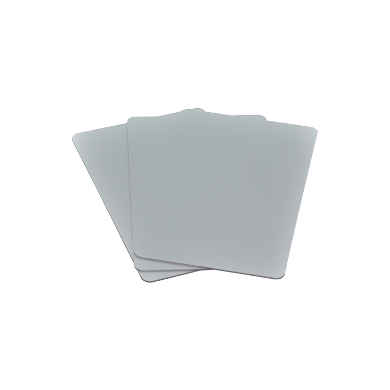 (50pcs/lot) Waterproof RFID Plastic 125KHz T5577 Chip Blank PVC Card